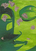 Buddha grün